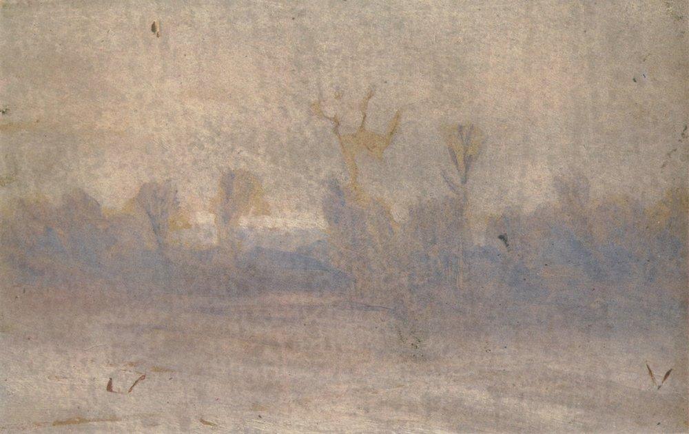 Winter. Fog - Arkhip Kuindzhi