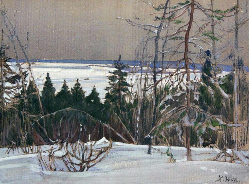 Winter Forest - Ivan Shishkin