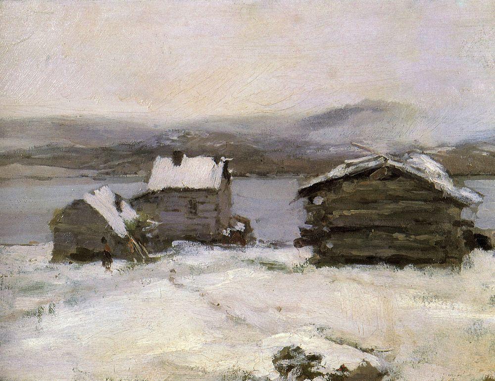 Winter in Lapland  - Konstantin Korovin