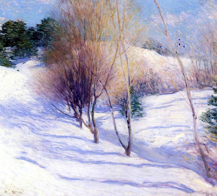 Winter in New Hampshire - Willard Metcalf