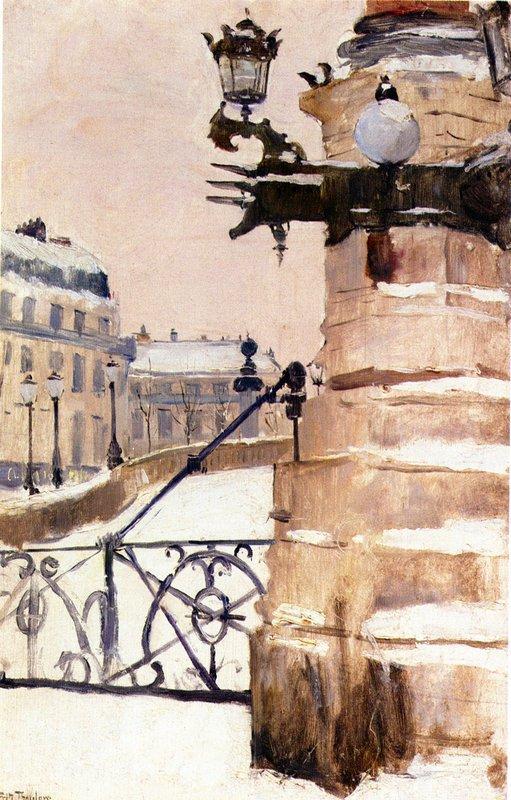 Winter in Paris - Frits Thaulow