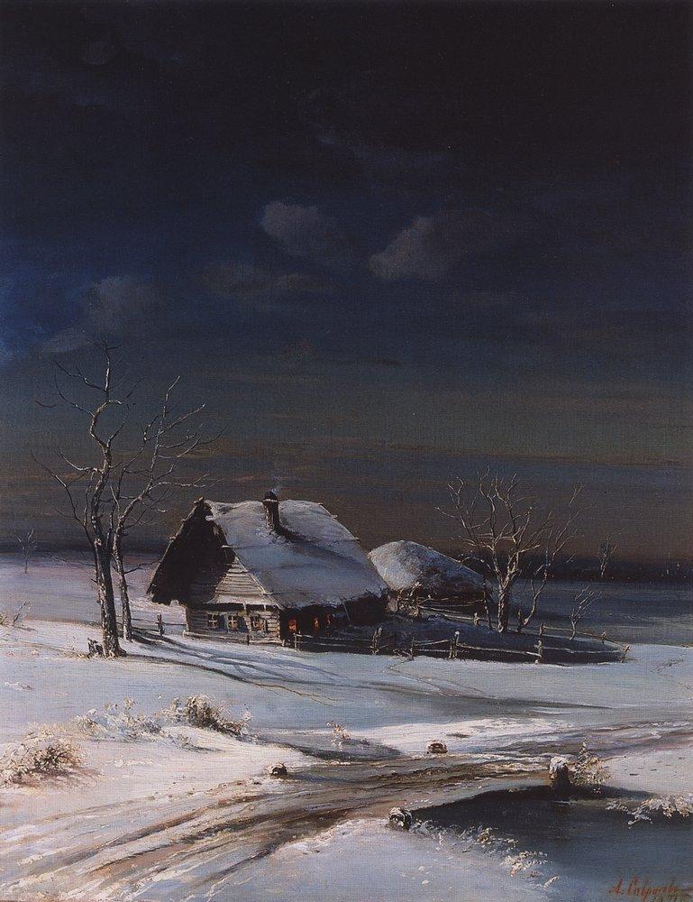 Winter Landscape - Aleksey Savrasov