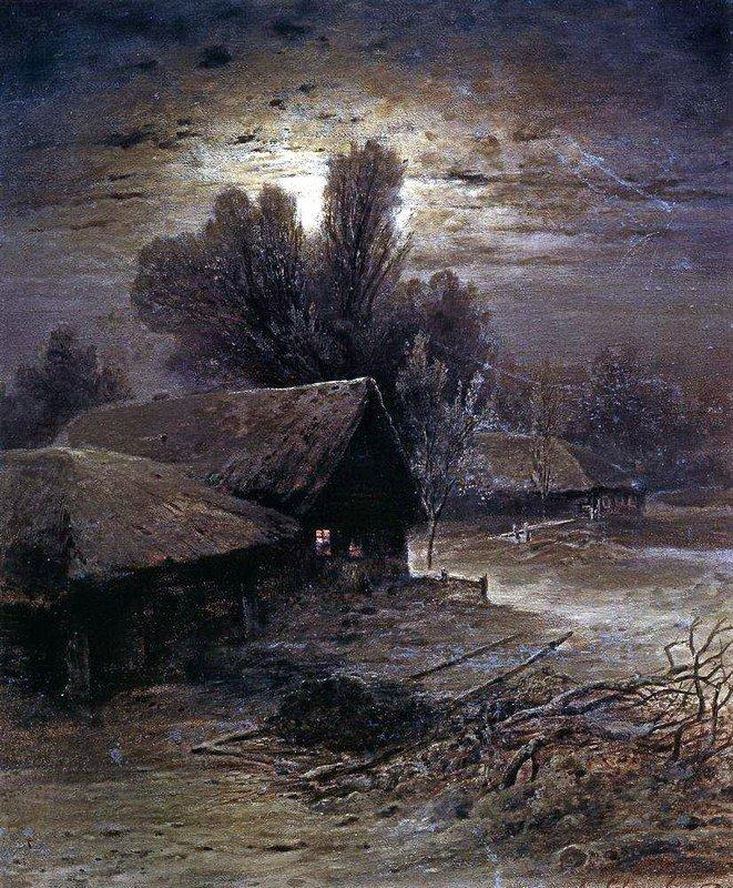 Winter Night - Aleksey Savrasov