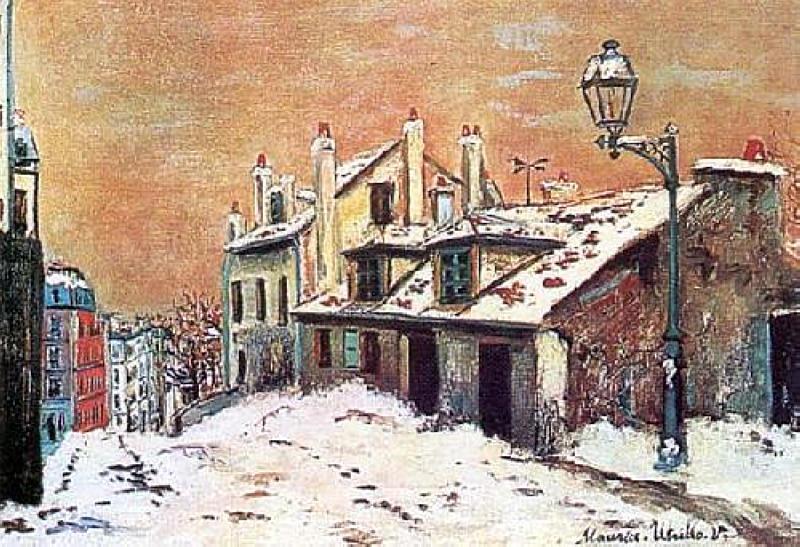 Winter Scene - Maurice Utrillo