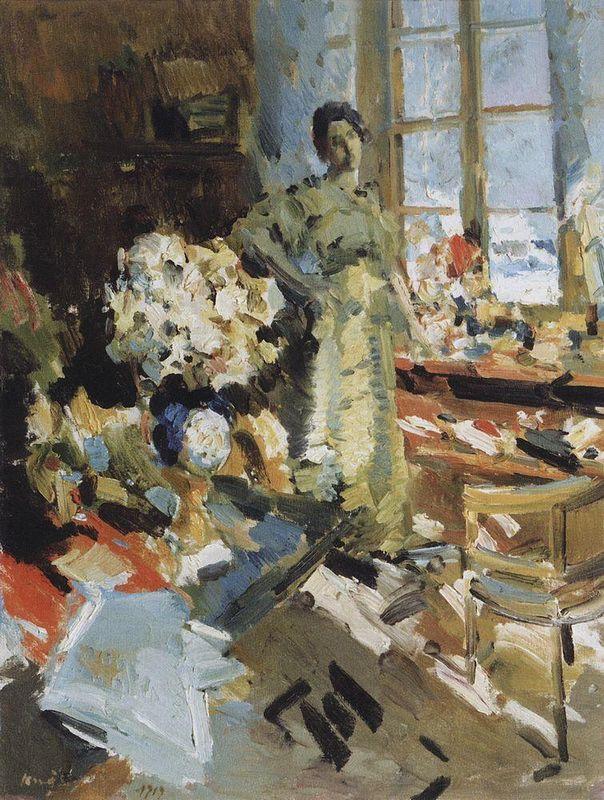 Winter sun  - Konstantin Korovin