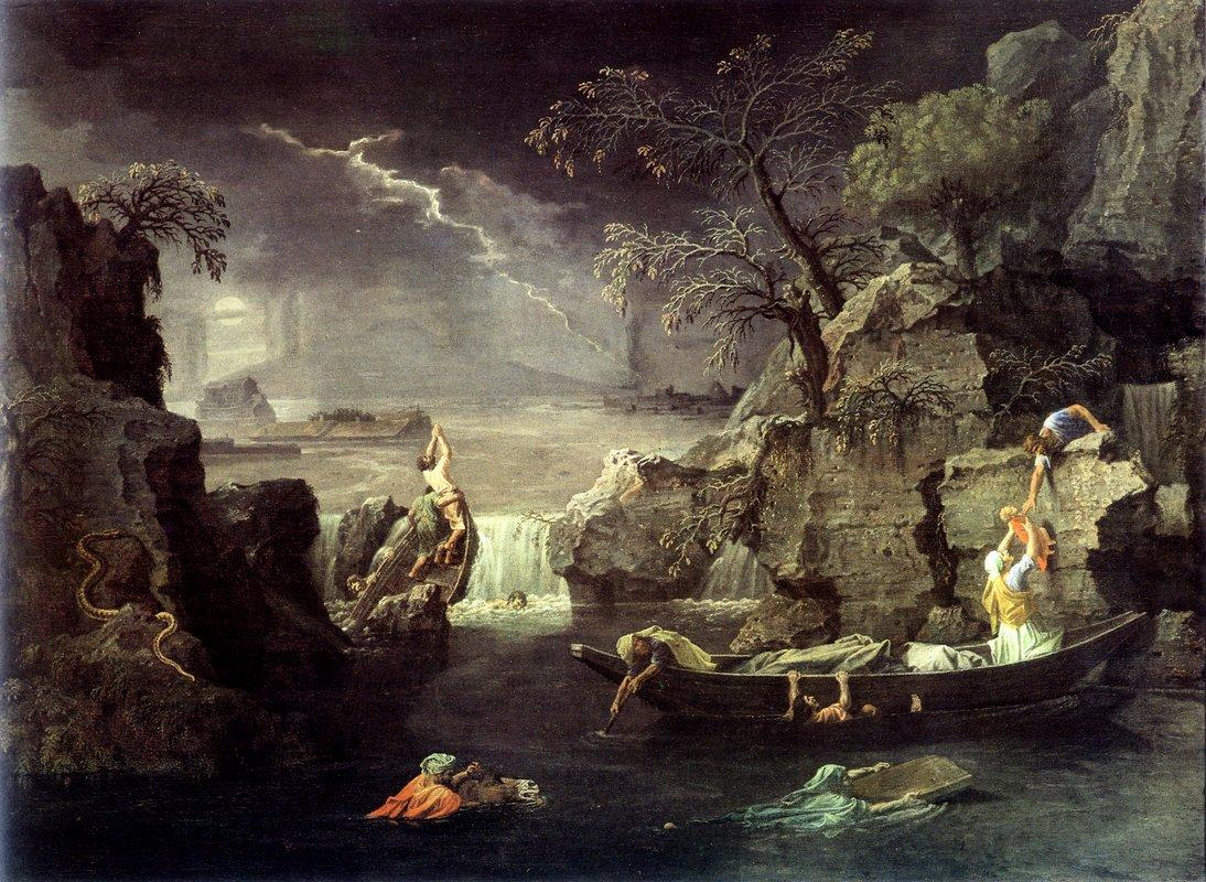 Winter (The Flood)   - Nicolas Poussin