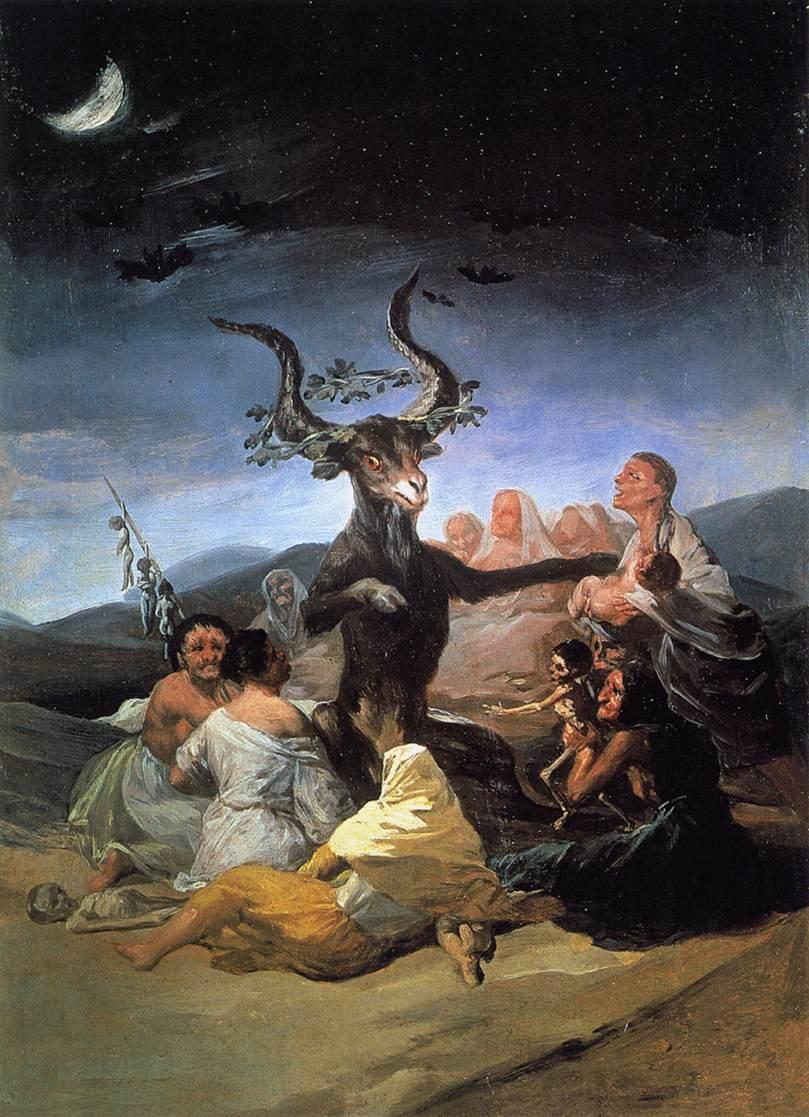 Witches Sabbath - Francisco Goya