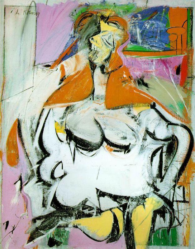 Woman - Willem de Kooning