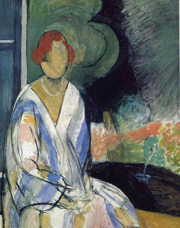 Woman at the Fountain - Henri Matisse