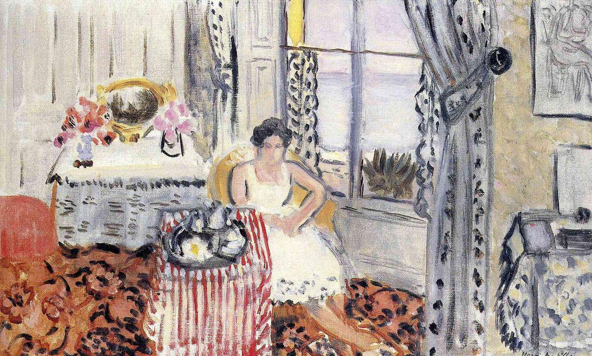 Woman by a Window - Henri Matisse