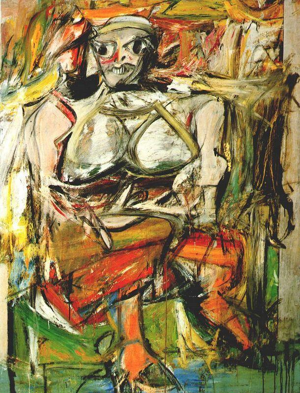 Woman I - Willem de Kooning