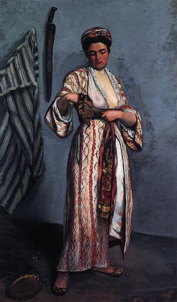 Woman in Moorish Costume - Frederic Bazille