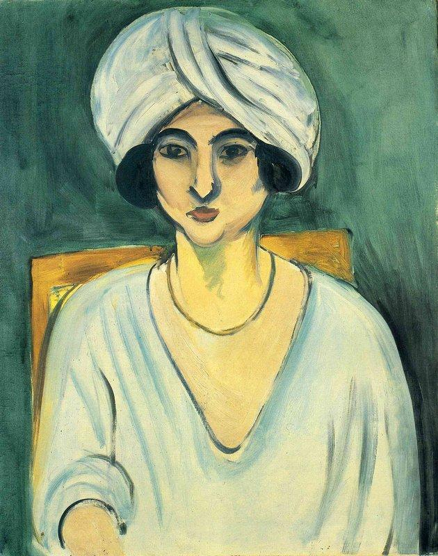 Woman in Turban (Lorette) - Henri Matisse