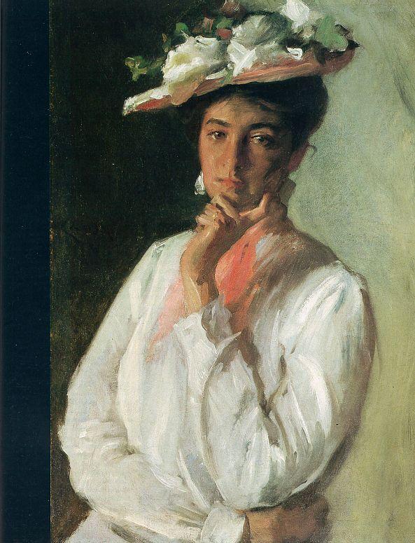 Woman in White - William Merritt Chase