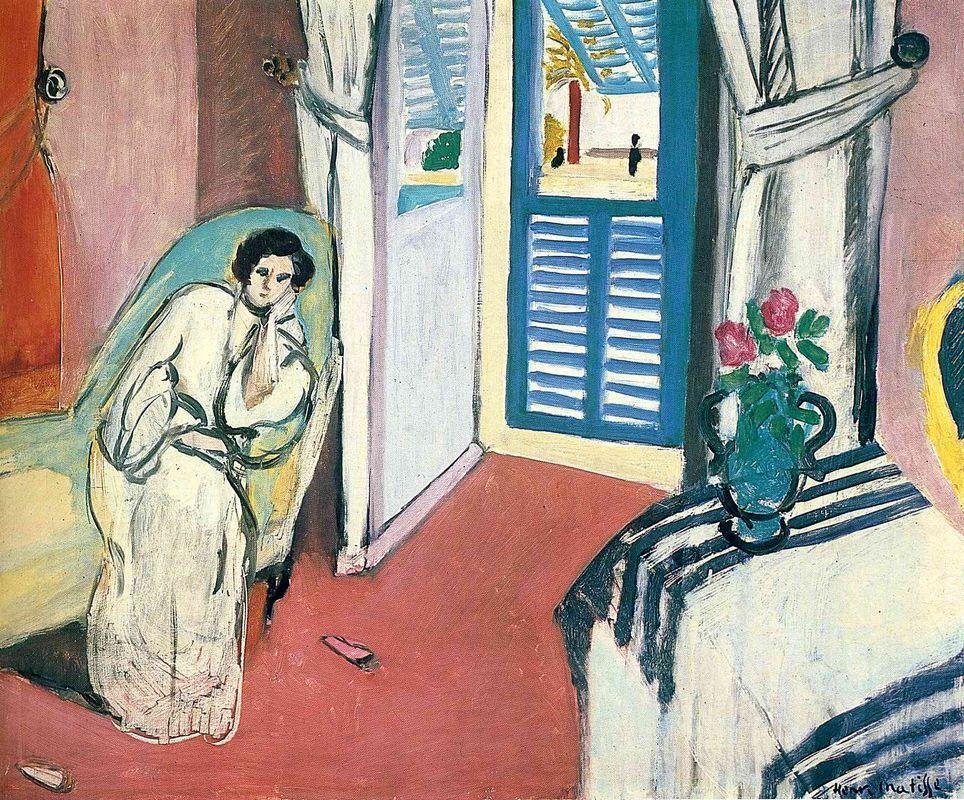 Woman on a Sofa - Henri Matisse