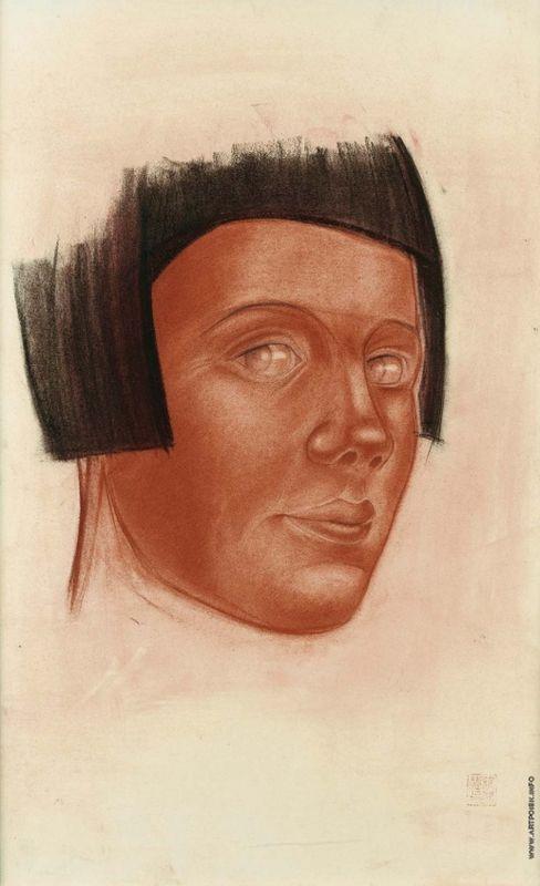 Woman Portrait - Alexandre Jacovleff