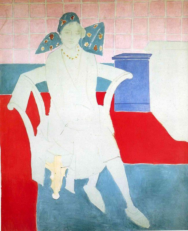 Woman with a Madras Hat  - Henri Matisse