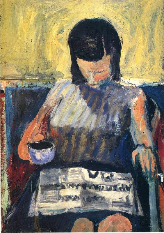 Woman with a Newspaper  - Richard Diebenkorn