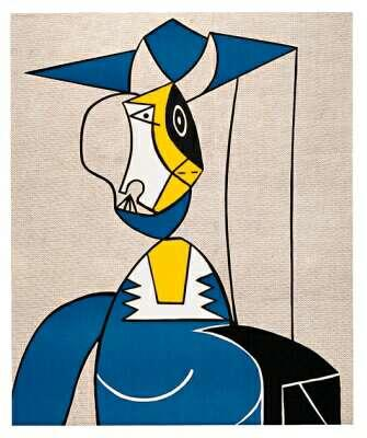Woman with hat - Roy Lichtenstein
