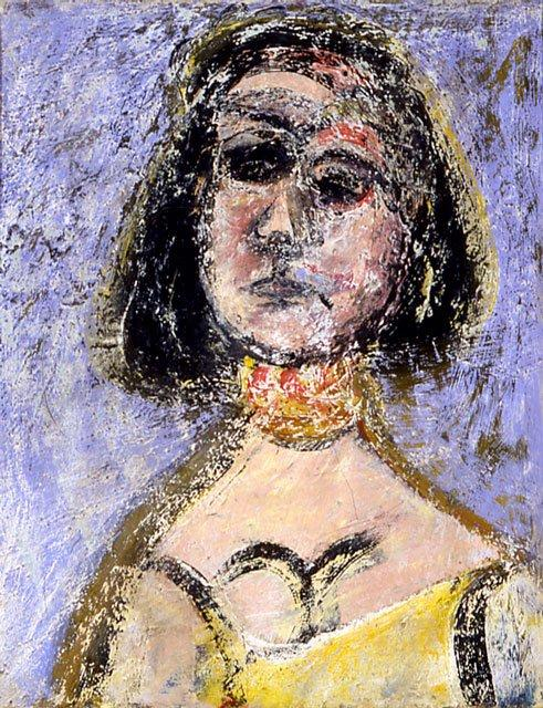 Woman with Necklace Marquette - Arshile Gorky
