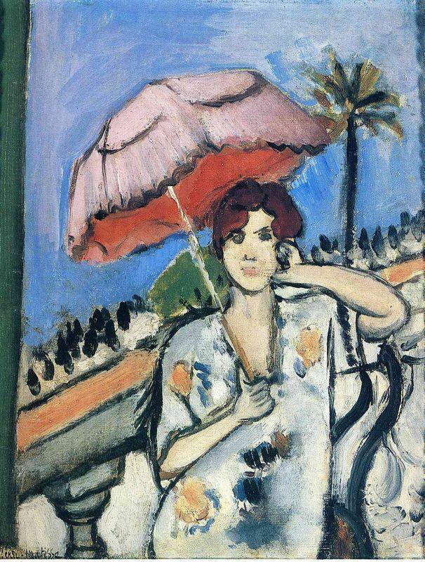 Woman with Umbrella - Henri Matisse