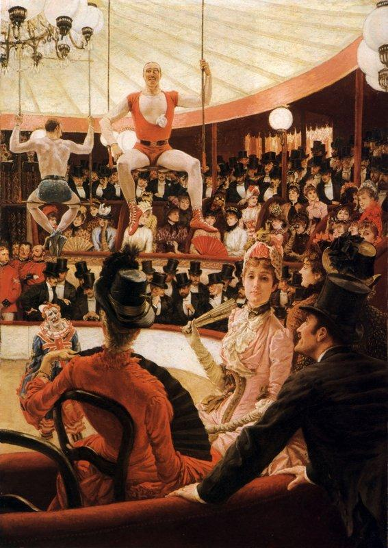 Women of Paris: The Circus Lover - James Tissot