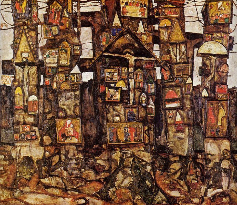Woodland Prayer - Egon Schiele