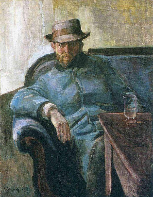 Writer Hans Jaeger - Edvard Munch