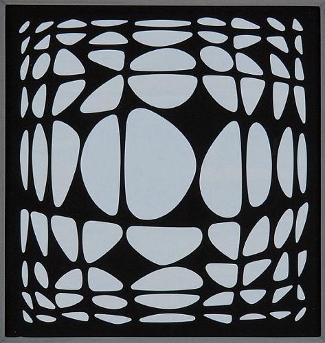 Yapoura - Victor Vasarely