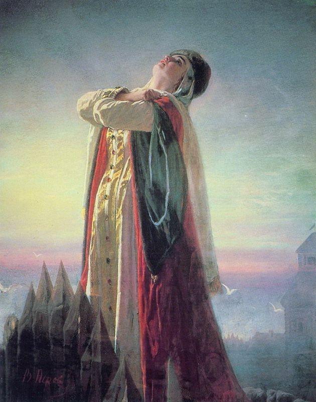 Yaroslavna's Lament  - Vasily Perov