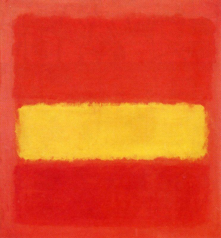 Yellow band  - Mark Rothko