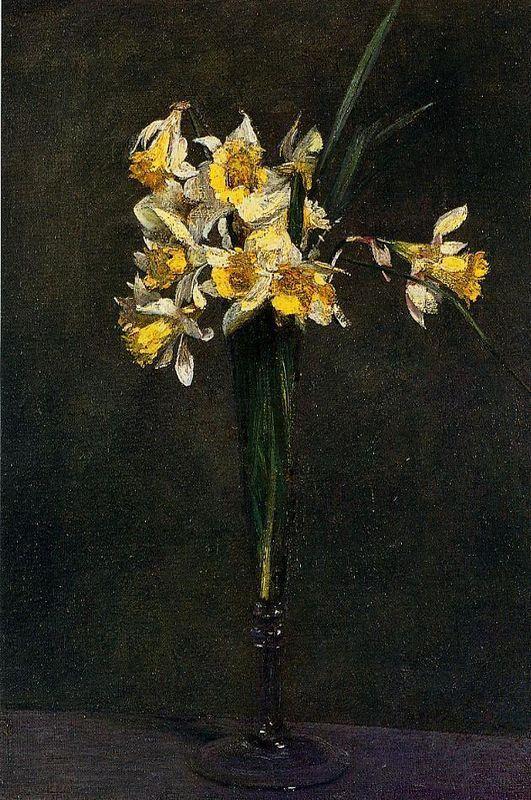 Yellow Flowers (also known as Coucous) - Henri Fantin-Latour