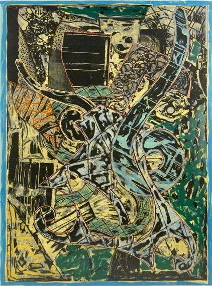 Yellow Journal - Frank Stella