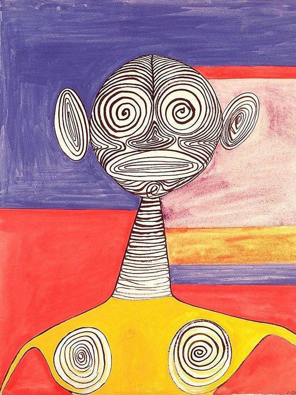 Yellow Tights  - Alexander Calder