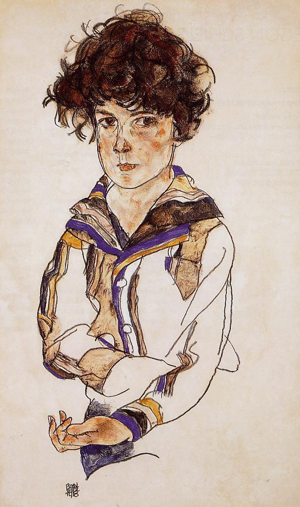 Young Boy - Egon Schiele