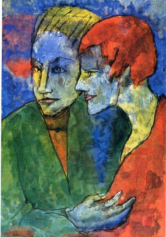 Young Couple - Emil Nolde