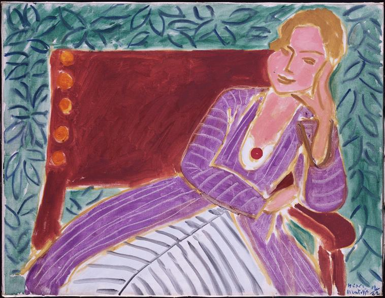 Young Girl In A Persian Dress - Henri Matisse
