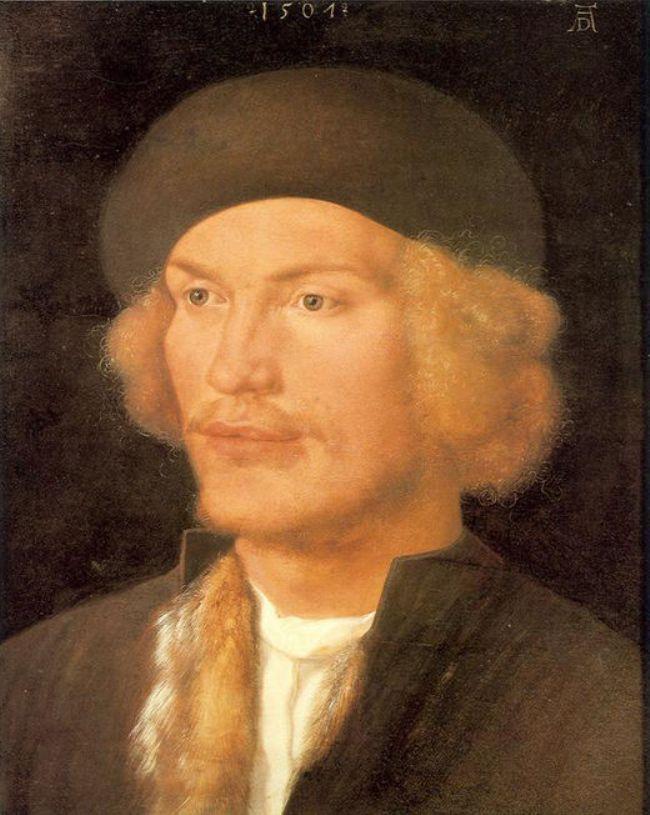 Young Man - Albrecht Durer
