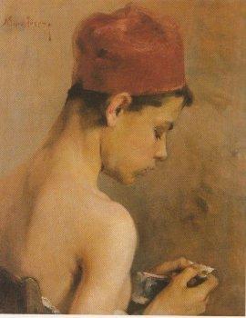 Young man - Nikolaos Lytras