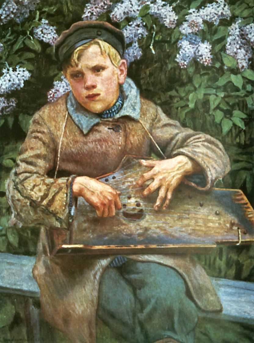 Young Musician - Nikolay Bogdanov-Belsky