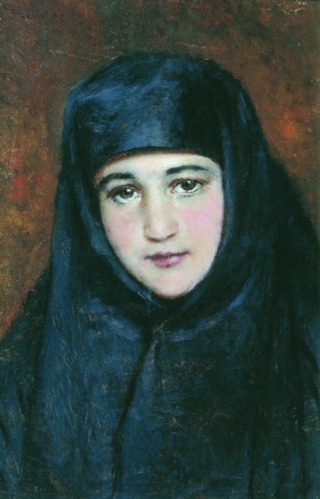 Young Nun - Konstantin Makovsky