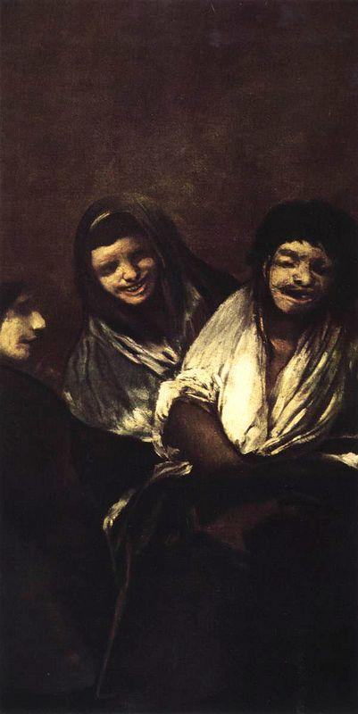 Young People Laughing - Francisco Goya