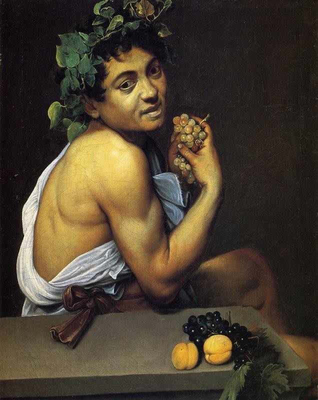 Young Sick Bacchus - Caravaggio