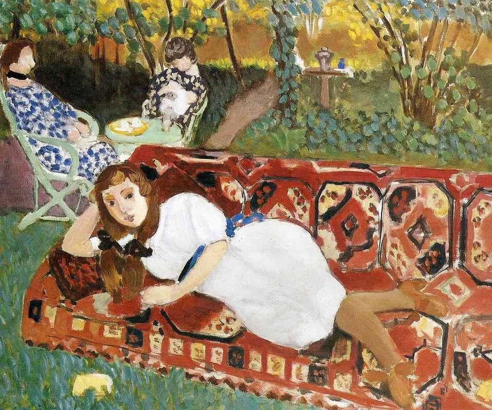 Young Women in the Garden - Henri Matisse