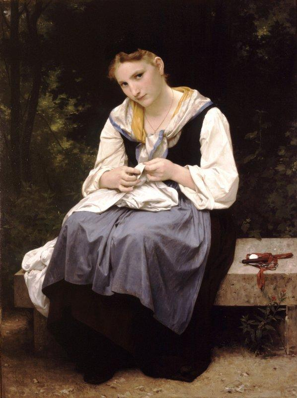 Young Worker - William-Adolphe Bouguereau