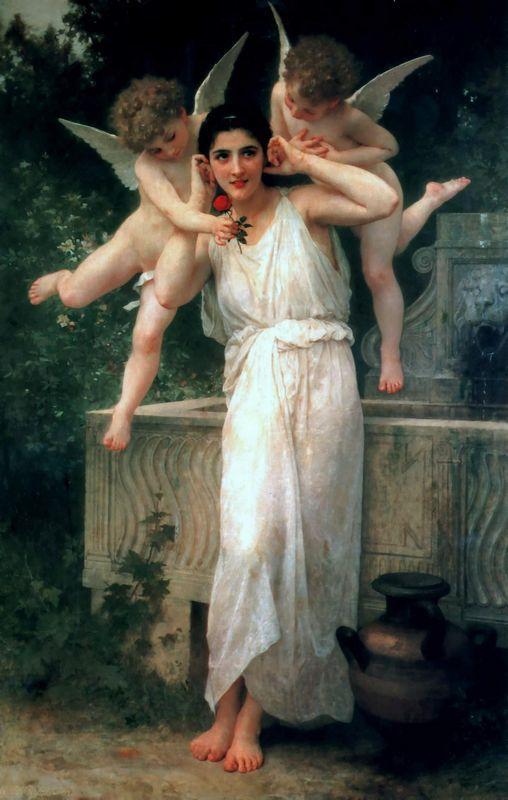 Youth - William-Adolphe Bouguereau