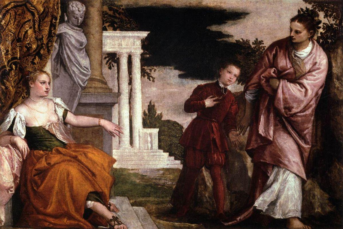 Youth between Virtue and Vice - Paolo Veronese