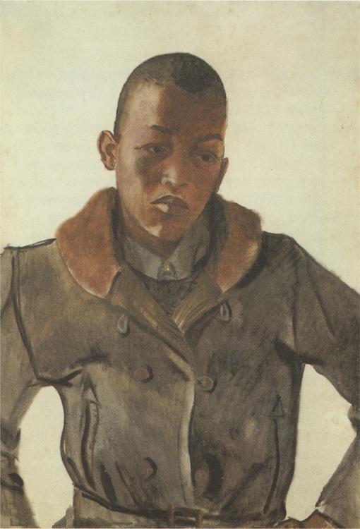 Youth Negro - Aleksandr Deyneka