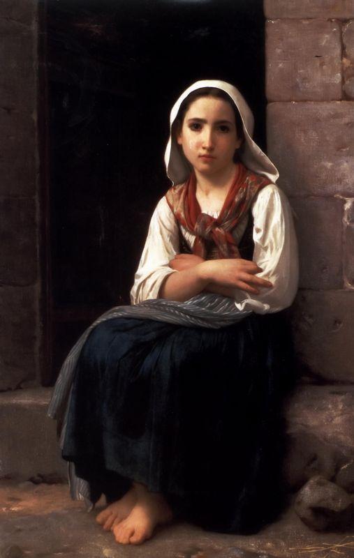 Yvonette - William-Adolphe Bouguereau