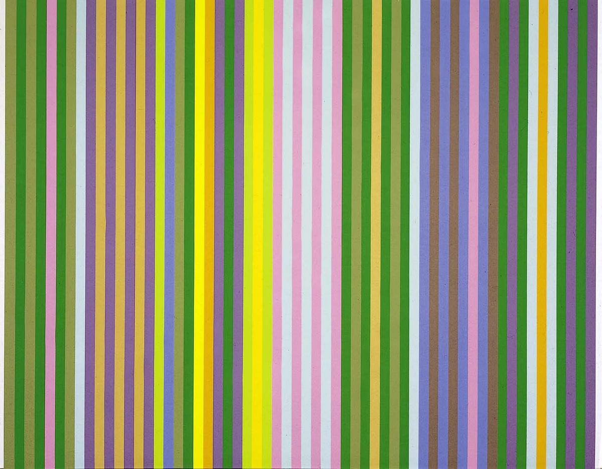 Zebra - Gene Davis